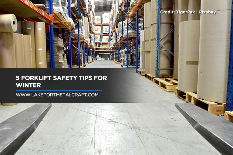 5 Forklift Safety Tips for Winter