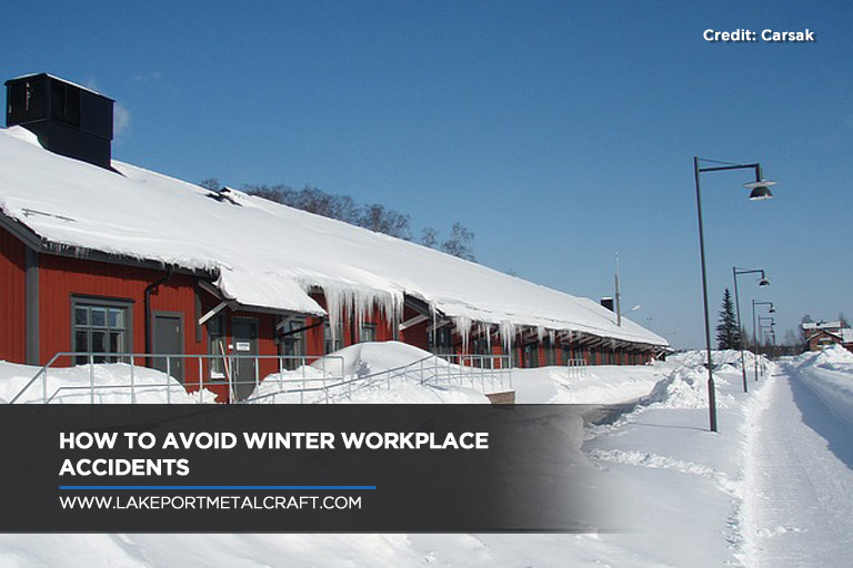How to Avoid Winter Workplace Accidents