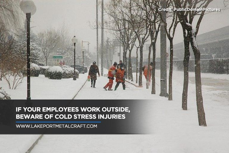 If your employees work outside, beware of cold stress injuries