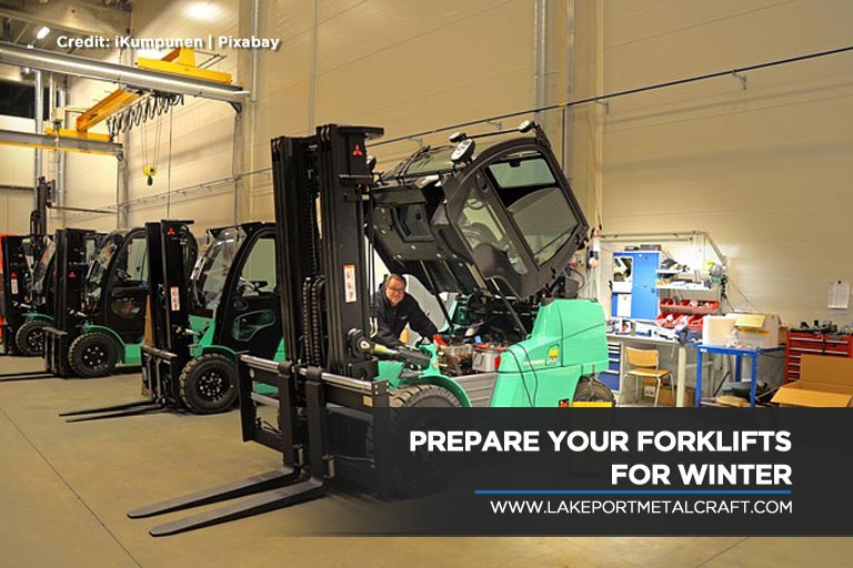 Prepare your forklifts for winter