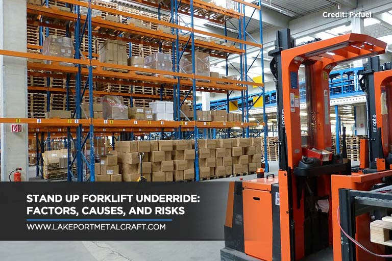 Stand Up Forklift Underride: Factors, Causes, and Risks