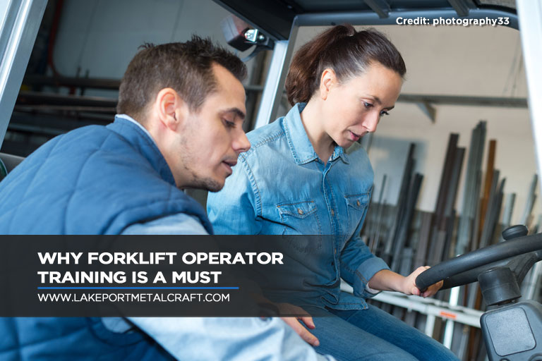 Why Forklift Operator Training Is A Must